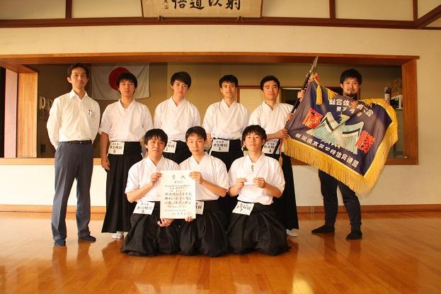 第72回新潟県高校総体弓道大会で男女団体優勝!
