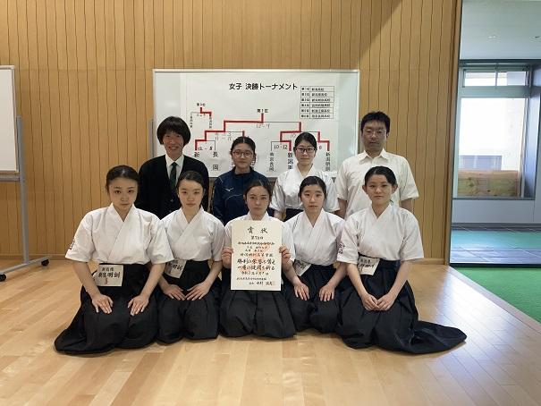 第74回新潟県高校総体 弓道大会のご報告